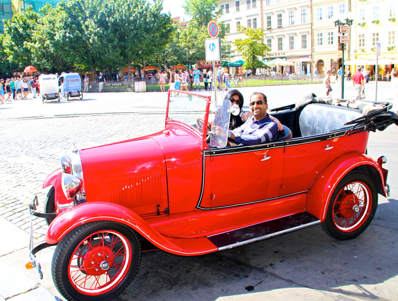 vintage Ford model T car