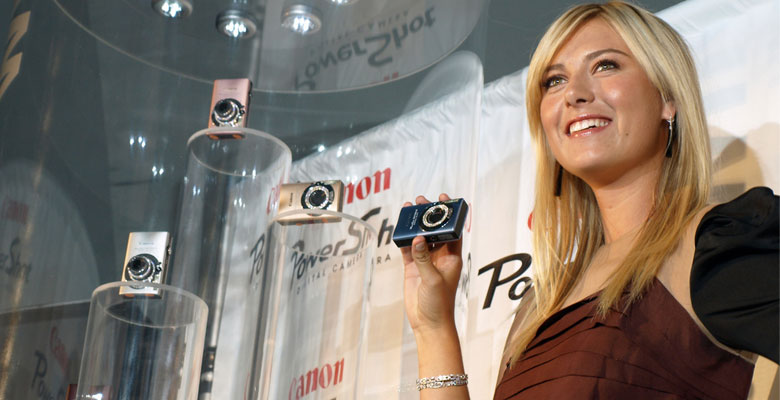 maria sharapova endorsement