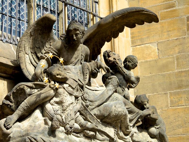 St-Vitus Cathedral Prague Sculptures